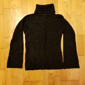 Calvin Klein Glitter Knit Flared Sleeve Sweater